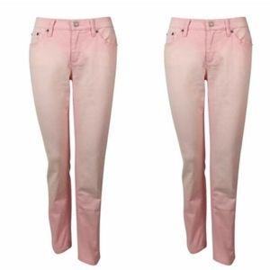 Ralph Lauren Jeans dawn Pink Modern skinny